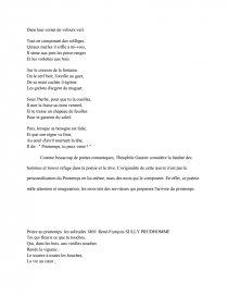 Anthologie Du Printemps Dans La Poésie Du 19 ème Siècle