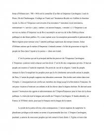les carolingiens et leglise dissertation
