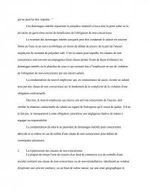 La Clause De Non Concurrence En Matiere Commerciale Documents