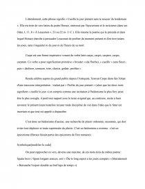 Caractéristiques De Lexistence Dans La Poésie Française Du