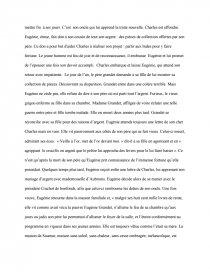 dissertation sur eugenie grandet