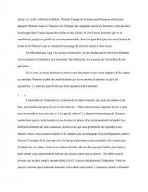 dissertation philosophie la culture dénature-t-elle lhomme