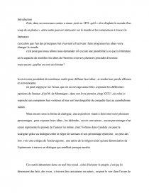 dissertation emile zola le forgeron