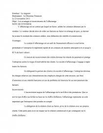 dissertation sur laffacturage