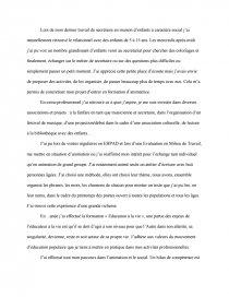 dissertation bpjeps animation sociale