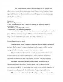dissertation mauriac le romancier et ses personnages