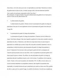 dissertation article 1384 alinéa 1