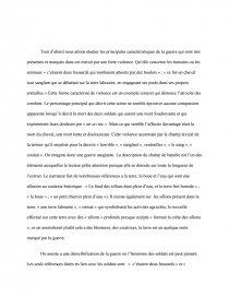 dissertation la chartreuse de parme