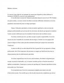 Lettre De Motivation Caferuis Note De Recherches Dissertation
