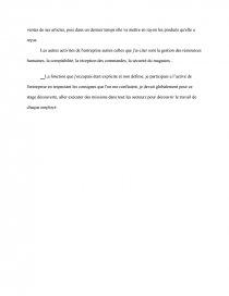 Remerciement Introduction Stage Carrefour Note De Recherches