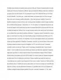dissertation le bapteme de clovis