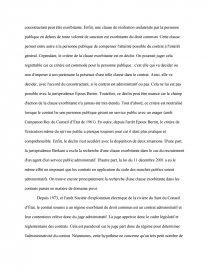 les critères didentification du contrat administratif dissertation