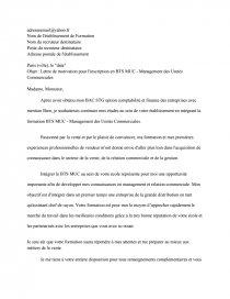 Lettre Motivation Bts Hotellerie Et Bts Muc Documents Gratuits