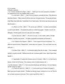 Morales De Fable Livre 7 Dissertation Dissertation