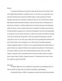 dissertation vipère au poing résumé