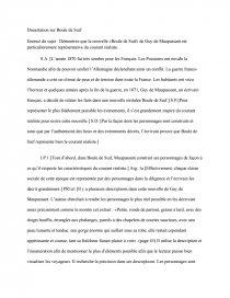 introduction de dissertation sur boule de suif