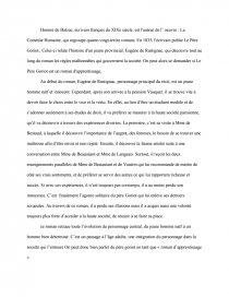 le père goriot roman dapprentissage dissertation