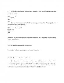 Compabilite Les Provisions Pour Risques Et Charges Rapports De