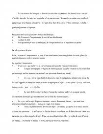 Commentaire Méthodique Sur Le Poème Le Bateau Ivre Darthur