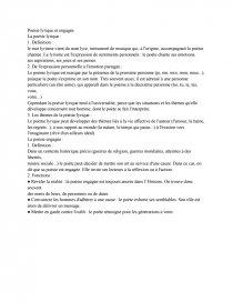 Dissertation sur la poésie - Dissertation - Naws13
