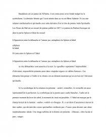 étude Du Poème Parfum Exotique De Charles Baudelaire Fiche