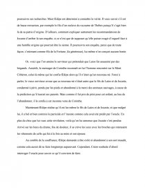 dissertation oedipe roi sophocle