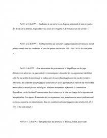 infraction flagrante dissertation