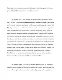 dissertation la flagrance