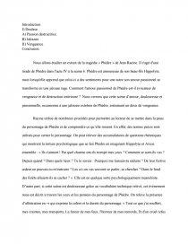 dissertation phedre une heroine tragique