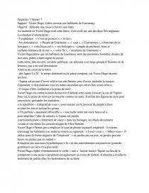 Support Victor Hugo Lettre Ouverte Aux Habitants De Guernesey