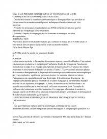Le Cause De Progre Scientifique Et Technique Document Gratuit Dissertation Sur La Revolution Industrielle