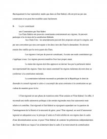 dissertation comparer letat unitaire et letat fédéral