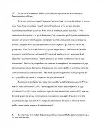 le service public pierre angulaire du droit administratif dissertation