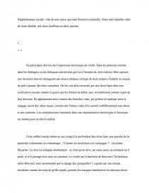 Incipit De Bouvard Et Pecuchet Commentaire