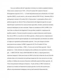 dissertation le cacao en cote divoire