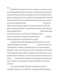 dissertation sur les avantages de largumentation indirecte