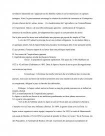 dissertation sur limpérialisme japonais