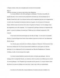 dissertation sur la citoyenneté à athènes et à rome