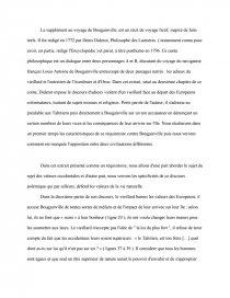 dissertation supplément au voyage de bougainville