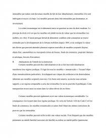 dissertation distinction biens meubles et immeubles