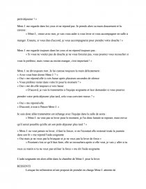 Module 5 Aide Soignante Rapports De Stage Chloeg