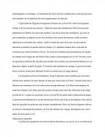 dissertation sur legypte pharaonique