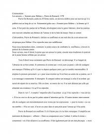 Amour Sonny Pour Hélène Pierre De Ronsard 1578