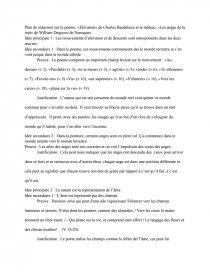Analyse Délévation Poème De Charles Baudelaire Et Les