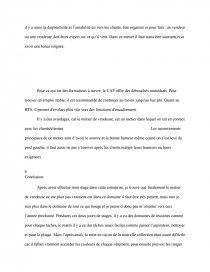 Rapport De Stage D Un Magasin De Vêtement Commentaires