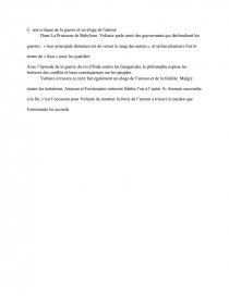 dissertation princesse de babylone