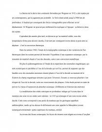 dissertation de svt sur la tectonique des plaques
