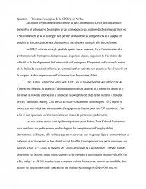 dissertation sur la gpec