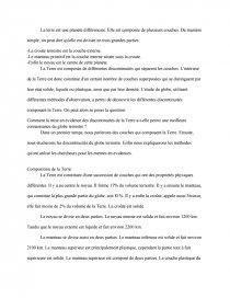 Svt Devoir 5 Les Discontinuites Recherche De Documents Lucas