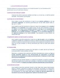 dissertation le pouvoir disciplinaire de lemployeur
